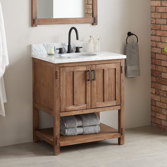 How to Pick the Perfect Small Bathroom Vanity | PullCa