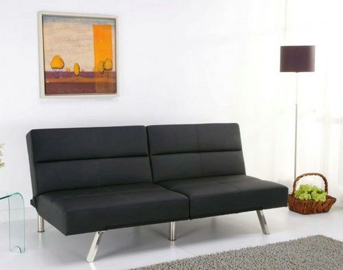 Modern Futon Sofa Bed Minimalist (With images) | Sofa bed design .