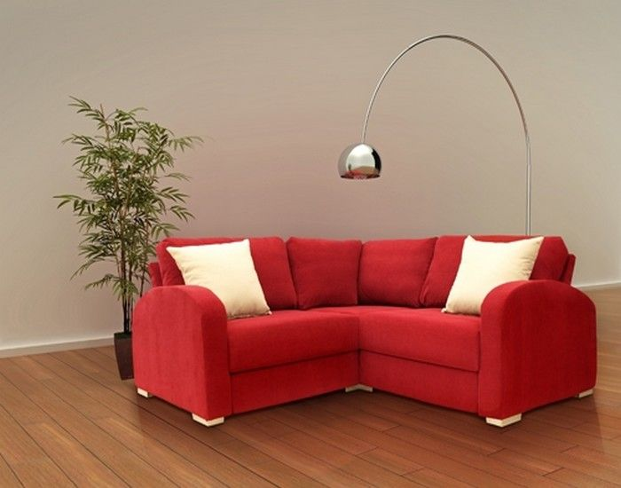 Small Corner Sectional Sofa | Small corner couch, Corner sectional .