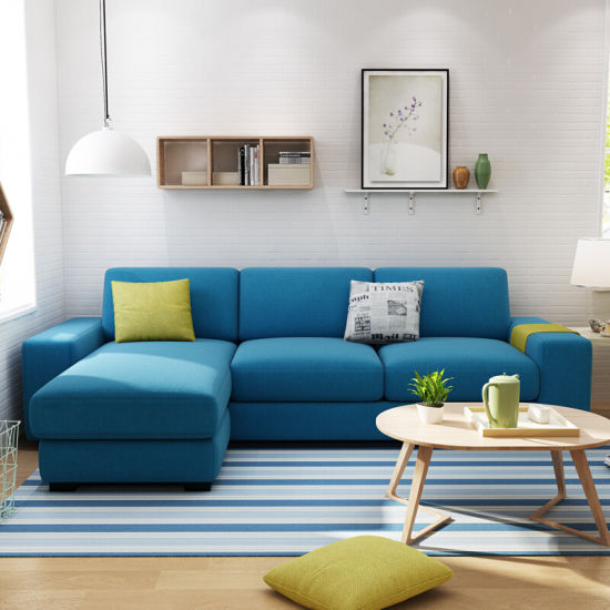 China Living Room Modern Leisure Small L Shape Corner Sectional .