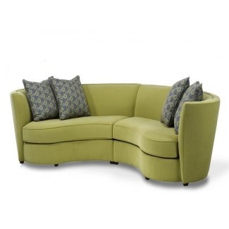 Small Curved Couch - Ideas on Fot