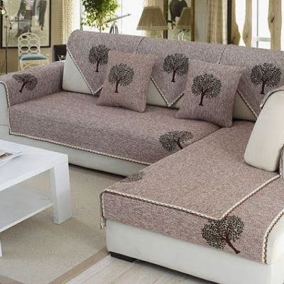 Top 100 sofa cover designs ideas 2019 | Sofa covers, Couch covers .