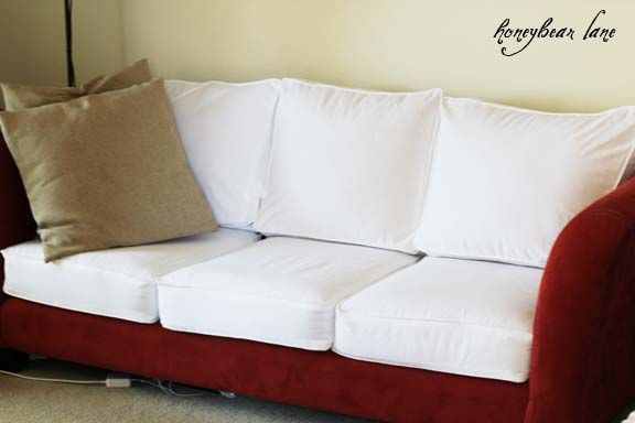 How to Make a Cushion Cover (and other Slipcover Tutorials .