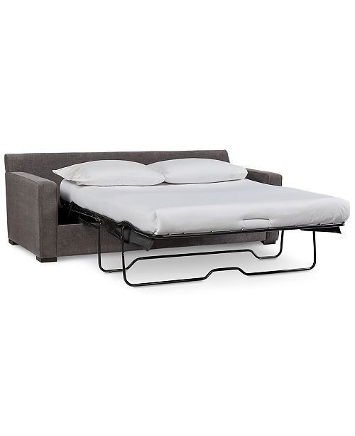 """Furniture Radley 86"""" Fabric Queen Sleeper Sofa Bed, Created for ."""