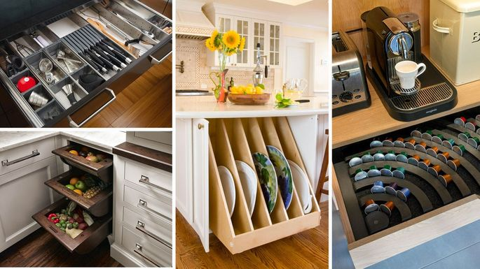 Genius Kitchen Storage Ideas for Cabinets, Drawers, and More .