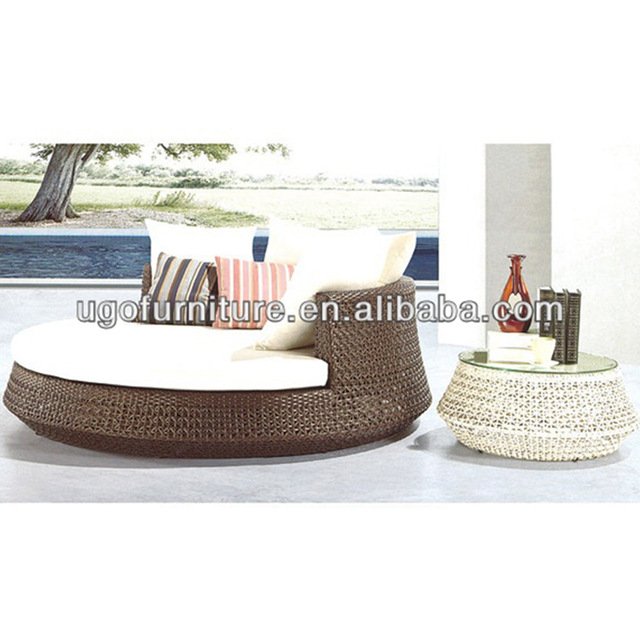 Special Offer Wholesale Outdoor Sofa Bed Round Super Comfortable .