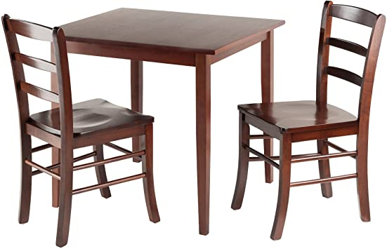 Amazon.com - Winsome Groveland Square Dining Table with 2 Chairs .