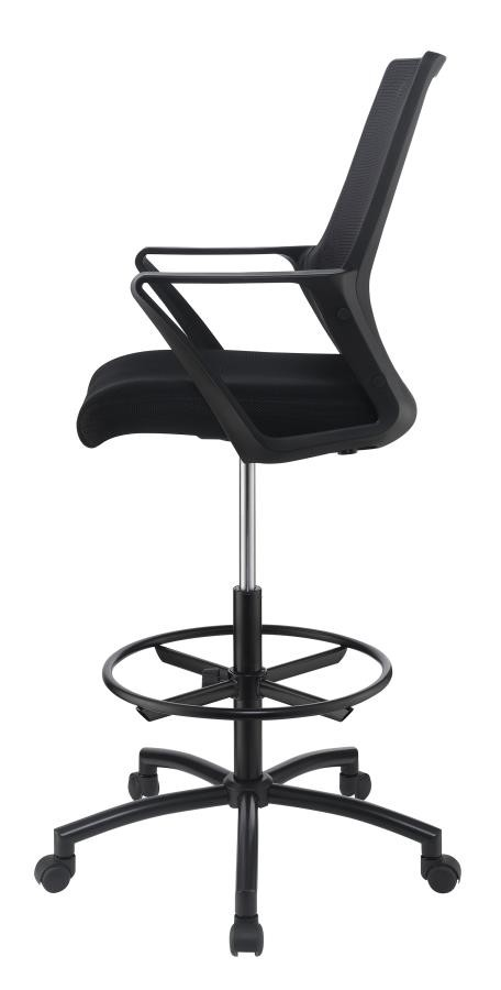 HOME OFFICE : CHAIRS - Contemporary Black Tall Office Chair .