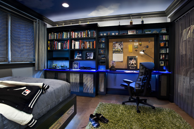 Teen Boy's Bedroom - Contemporary - Kids - San Francisco - by TRG .