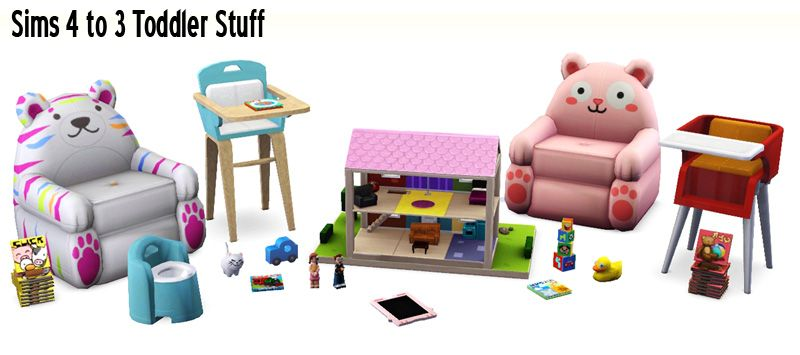 Around the Sims 3 | Custom Content Downloads| Objects | Kids .