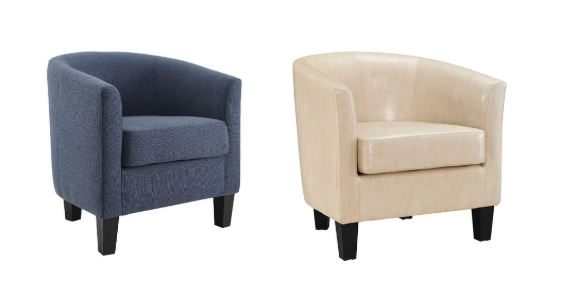Shopko Clearance: Enzo and Fabric Tub Chairs ONLY $79.99 & Free .