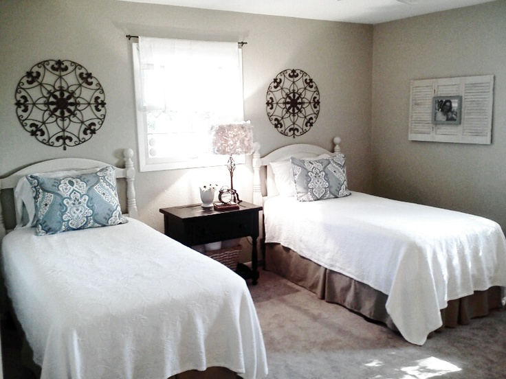Twin bed guest room ideas   SIK Interio