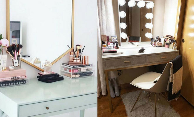 43 Must-Have Makeup Vanity Ideas   StayGl