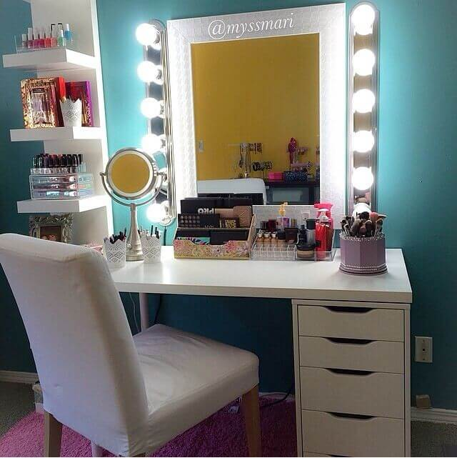 19 Best Makeup Vanity Ideas and Designs for 20