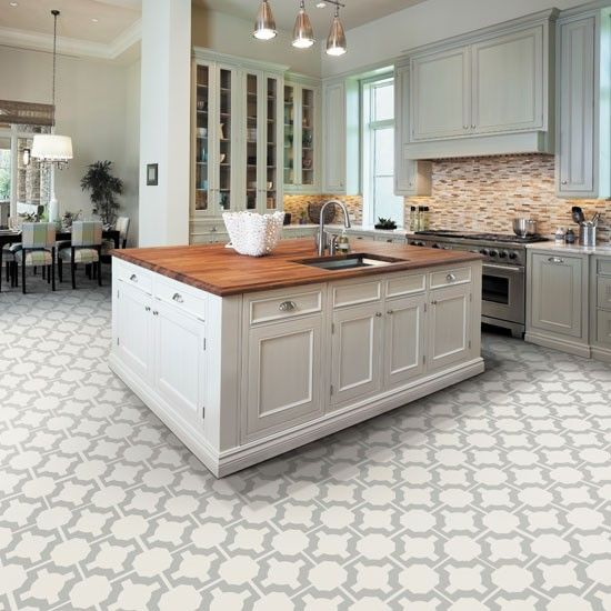 Kitchen flooring ideas – for a floor that's hard-wearing .
