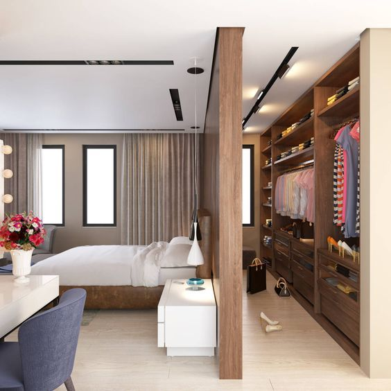 37 Wonderful Master Bedroom Designs with Walk in Closets | Home .