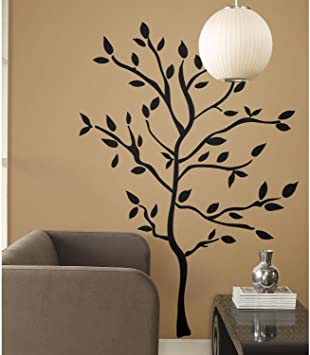 RoomMates Tree Branches Peel and Stick Wall Decals - RMK1317GM .