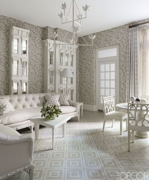 20 White Living Room Furniture Ideas - White Chairs and Couch