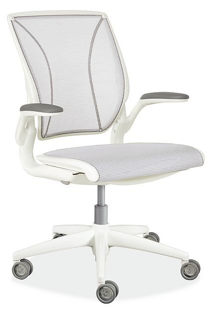 Diffrient World White Office Chair - Modern Office Chairs & Task .