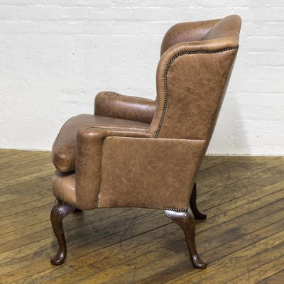 Edwardian Winged Armchair for sale at Pamo