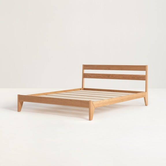Wood Bed Frame | Tuft & Need