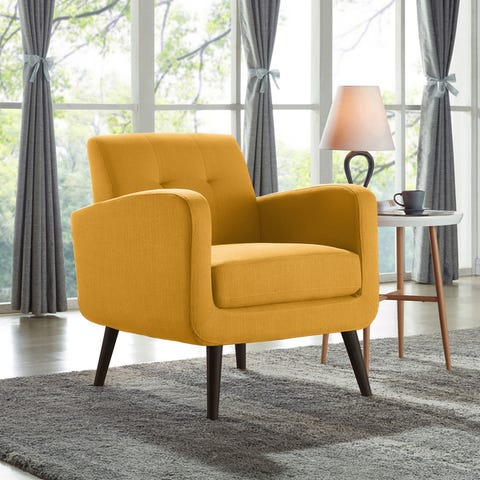 Accent Chairs, Yellow | Shop Online at Oversto