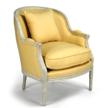 Canary Yellow Bergere Club Cha