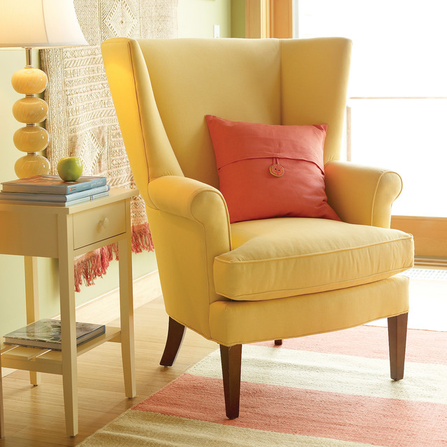 Owen Wing Chair - Traditional - Living Room - Baltimore - by Maine .