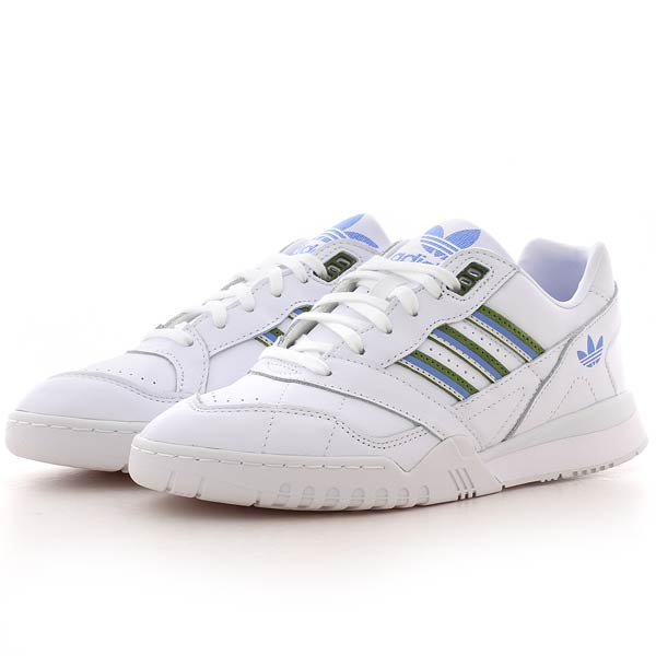 adidas originals A.R. TRAINER WOMENS ftwr white/tech olive/real .