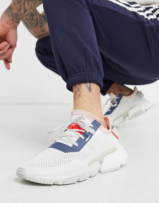 adidas Originals POD trainers in white | AS