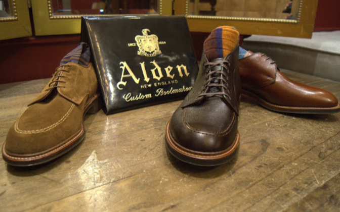 Fall Alden shoe release at the QG — The