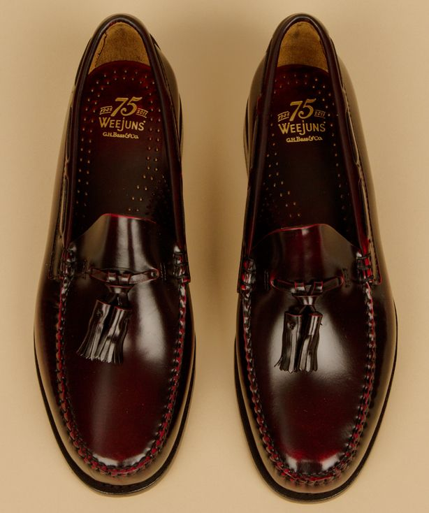 Leather Penny Loafers from Bass Weejuns | Dress shoes men, Best .