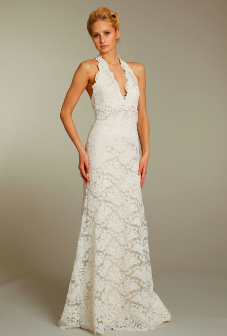 The Perfect Fit: Halter Top Wedding Gowns For Older Brides .