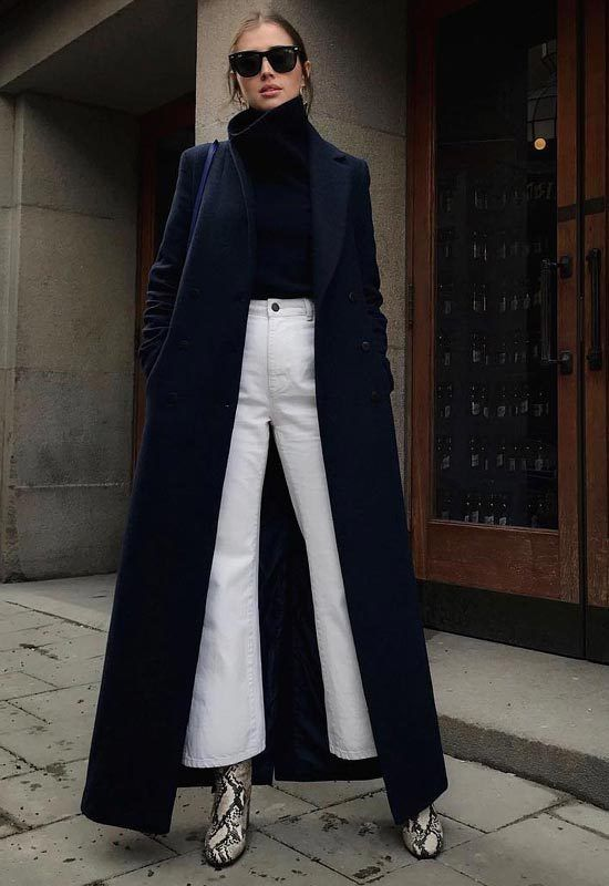 White Jeans -street style - La Selectiva | How to wear white jeans .