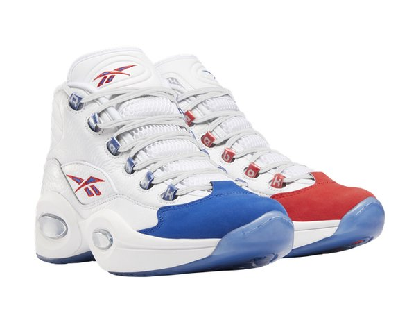 Reebok releasing throwback Allen Iverson shoes from the Sixers .