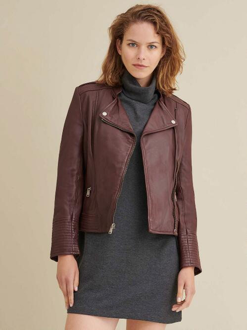 Women's Outerwear: Leather Jackets & Fabric Coats - Wilsons Leath