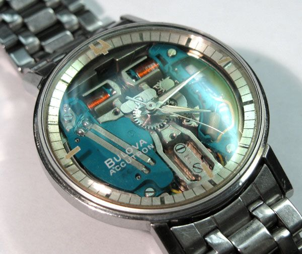 The world of watch making completely changed when Bulova Accutron .