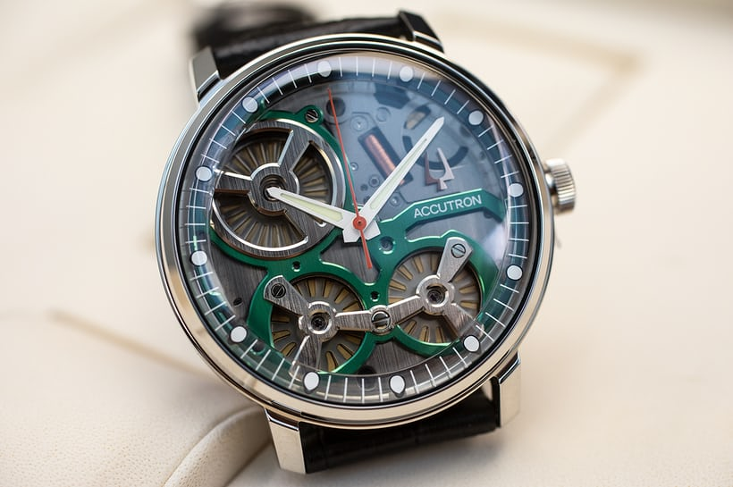 Introducing: The Electrostatic Accutron Concept Movement, Released .