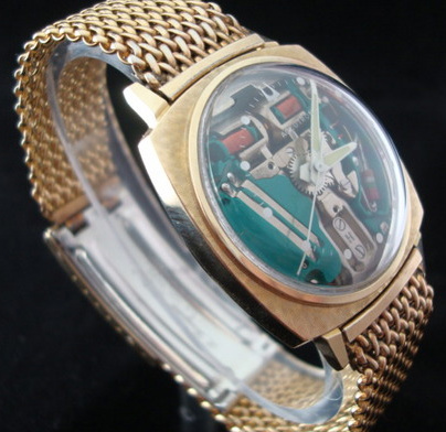 Historical Bulova Accutron Spaceview Electonic Watch Is Futuristic .