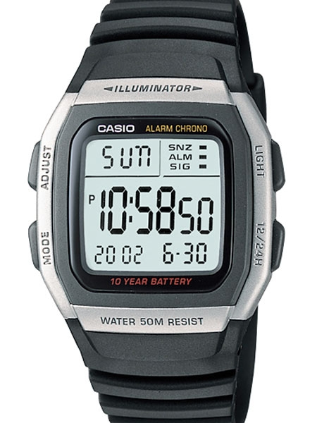 Casio Sport Illuminator Watch with Alarm, Dual Time and Stopwatch .
