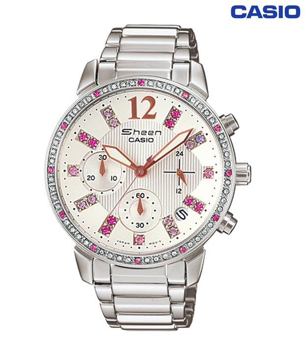 Buy Casio WCD7A Ladies Sheen Watch on Snapdeal | PaisaWapas.c