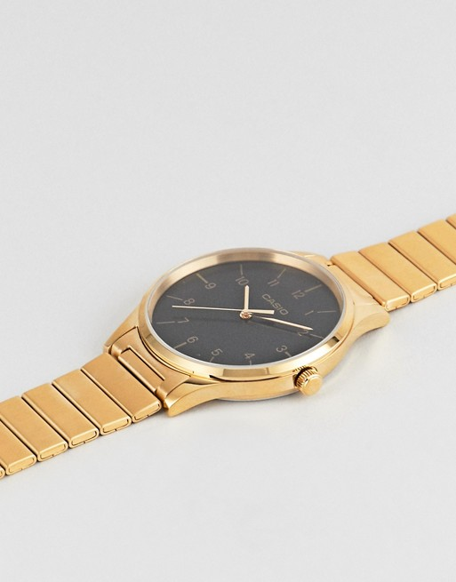 Casio Analogue vintage watch in gold   AS