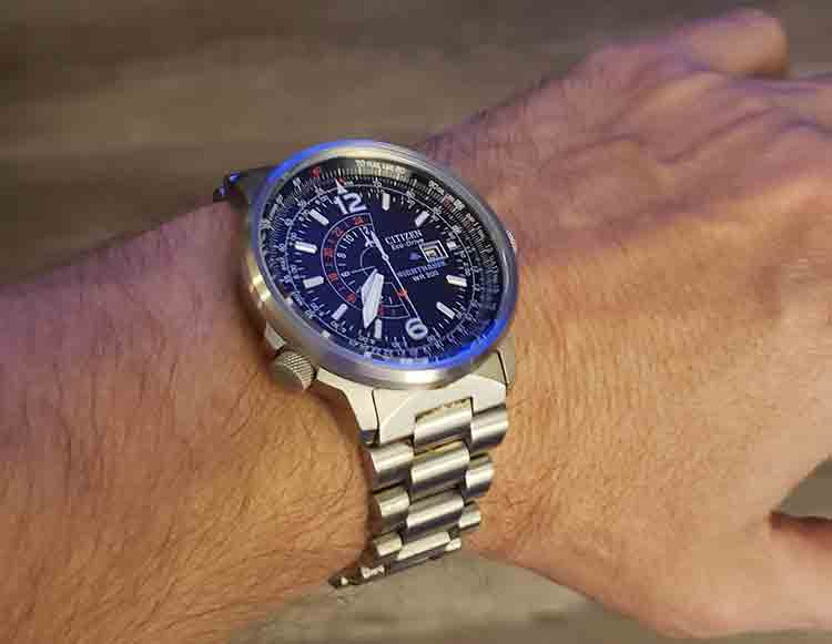 Men's Eco-Drive Promaster Nighthawk Dual Time Watch Review - Help .