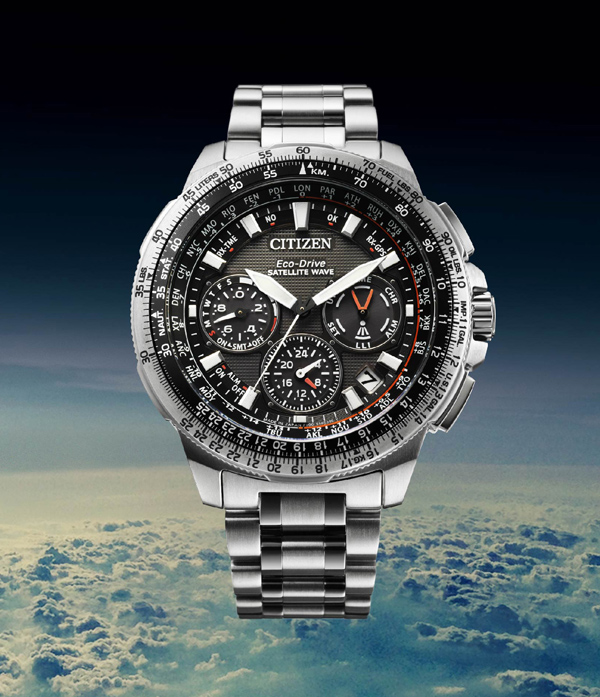 The New PROMASTER SATELLITE WAVE -GPS   CITIZEN WATCH Global Netwo