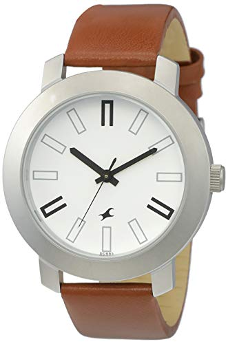 Buy Fastrack Casual Analog White Dial Watch for Men -NM3120SL01 .