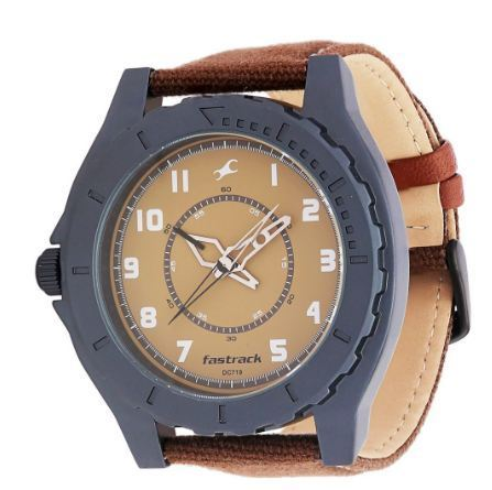 Brown Fastrack Analog Watch for Men NG9462AL02CJ, Rs 2645 /piece .