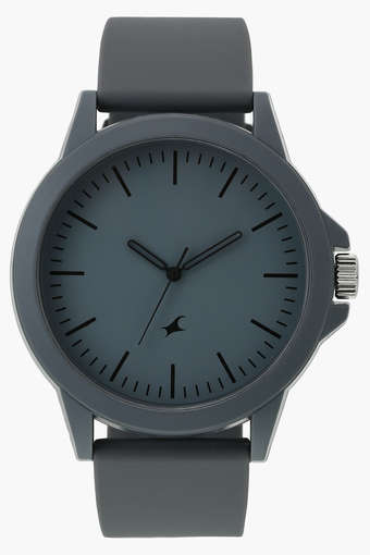 Buy FASTRACK Mens Analogue Silicone Watch - 38024PP24   Shoppers St