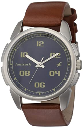 Buy Fastrack Casual Analog Blue Dial Men's Watch NM3124SL02 .