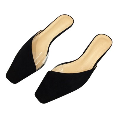 Summer Flat Shoes Ladies Fashion Slippers Leopard Tip Binding .