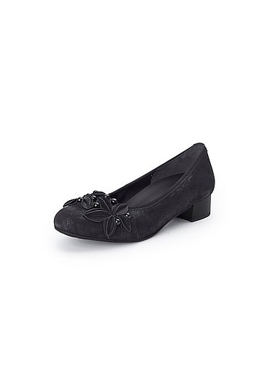 Gabor - Shoes in 100% leather - black metall